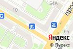 Схема проезда до компании Градус широты душевной в Туле