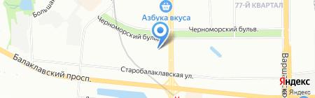 Золотая Шпулька на карте Москвы