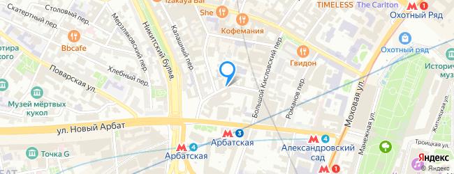 Нижний Кисловский переулок