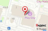 Схема проезда до компании Спа Лэнд Рус в Москве