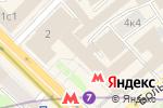 Схема проезда до компании Мега Недвижимость в Москве
