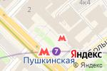 Схема проезда до компании Праводоговор в Москве