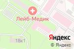 Схема проезда до компании Московский научно-практический центр наркологии в Москве