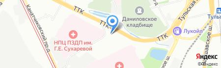 Мосвода на карте Москвы
