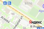 Схема проезда до компании Социальная гостиница в Туле