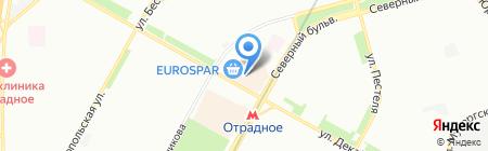 GlobalMasters на карте Москвы
