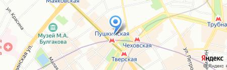 Важная персона на карте Москвы