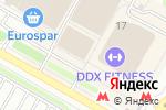 Схема проезда до компании АТАКА в Москве