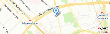 ТУКС МОСПРОМСТРОЙ на карте Москвы