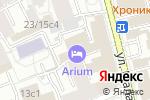 Схема проезда до компании ТУКС МОСПРОМСТРОЙ в Москве