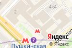 Схема проезда до компании Mon Amour в Москве