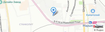 СОНЭКС на карте Москвы