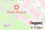 Схема проезда до компании As в Москве