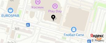 СТРАХОВАНИЕ+ на карте Москвы