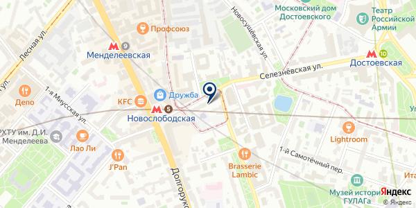 Елкиарт на карте Москве