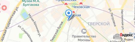Турандот на карте Москвы
