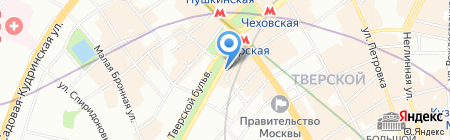 Каста Дива на карте Москвы