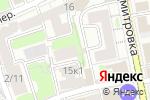 Схема проезда до компании Арбитражный управляющий Чупраков А.А. в Москве