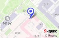 Схема проезда до компании ИНСТИТУТ КОРОНАРНОЙ ПАТОЛОГИИ И СОСУДИСТОЙ ХИРУРГИИ в Москве