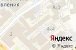 Схема проезда до компании ХРОНОС в Москве