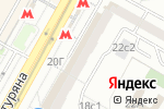 Схема проезда до компании Цветочный ряд в Москве