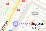 Схема проезда до компании FlyFreeLy в Москве