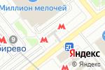 Схема проезда до компании Цветочный базар в Москве