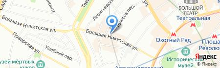 Защита на карте Москвы
