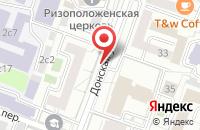 Схема проезда до компании Д энд Д в Москве