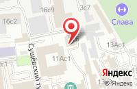 Схема проезда до компании Студия Телепроект в Москве