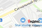 Схема проезда до компании Мир Макета в Москве