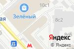 Схема проезда до компании Express-Pro в Москве