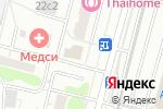 Схема проезда до компании ИФК в Москве