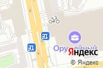 Схема проезда до компании Оружейный в Москве