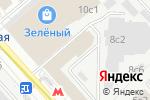 Схема проезда до компании Дельта ралли в Москве