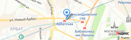 Sky Club на карте Москвы