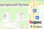 Схема проезда до компании Дверной бутик в Москве