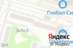 Схема проезда до компании АВК Продакшн в Москве