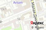 Схема проезда до компании Паллада Капитал в Москве