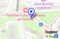 Схема проезда до компании КОНСУЛЬТАТИВНО-ОРТОПЕДИЧЕСКАЯ КЛИНИКА БОЛЬНИЦА № 59 в Москве