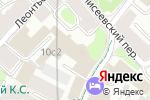 Схема проезда до компании ЦТП МОЭК в Москве