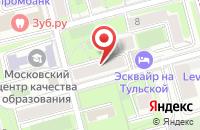 Схема проезда до компании Арт-Профи в Москве