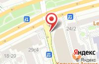 Схема проезда до компании Новые Технологии в Москве
