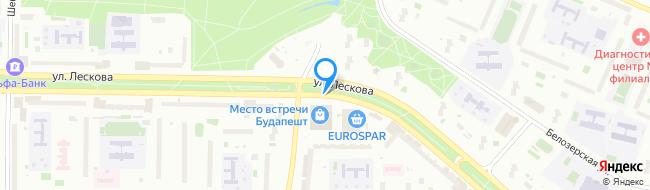 улица Лескова
