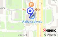 Схема проезда до компании КБ К-БАНК в Москве