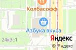 Схема проезда до компании ВьетКафе в Москве