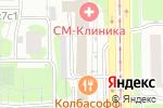 Схема проезда до компании БахрушинЪ в Москве