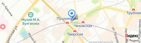 Tez tour на карте Москвы