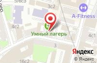 Схема проезда до компании Бюро Деловых Коммуникаций в Москве