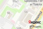 Схема проезда до компании Магазин женской и мужской одежды в Туле